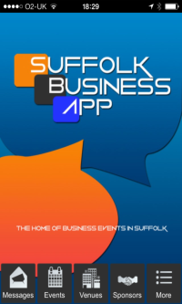 Suffolk Biz App Homepage