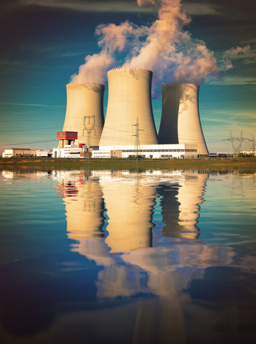 barton cooling towers, how does electricity get to your home?