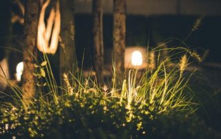summer safety, garden lighting